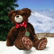 Little Ginger Bread 33 cm Teddy Bear by Hermann-Coburg