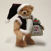 Here Comes Santa Claus 36 cm Teddy Bear by Hermann-Coburg