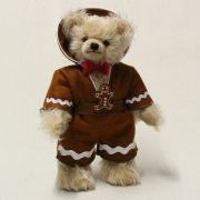 Jolly Gingerbread Man 33 cm Teddy Bear by Hermann-Coburg