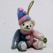 Little Baby-Clown 13 cm Teddy Bear by Hermann-Coburg