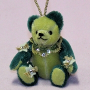 Der Glanz der Weihnacht 13 cm Teddybär von Hermann-Coburg