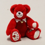 Teddy in Love 32 cm Teddy Bear by Hermann-Coburg