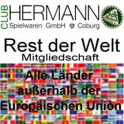 HERMANN Coburg Sammler Club Mitgliedschaft Welt - Clubjahr 2018