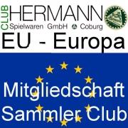 HERMANN Coburg Sammler Club Mitgliedschaft EU-Europa - Clubjahr 2019