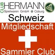 HERMANN Coburg Sammler Club Mitgliedschaft Schweiz- Clubjahr 2019
