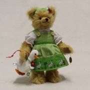 Püppi – Däumelinchen 11 cm Teddy Bear by Hermann-Coburg