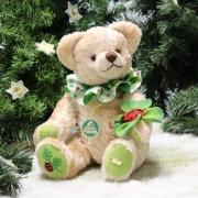 Mein Glücksbärchen für 2021 26 cm Teddy Bear by Hermann-Coburg