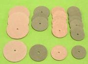 Gelenkscheiben aus Spezial Hartpappe 15 bis 110 mm Durchmesser