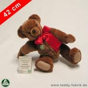 Teddybär Frederick 42 cm schmuseweiche Klassiker