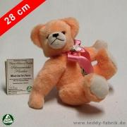 Teddybär Mandarinchen 28 cm schmuseweiche Klassiker
