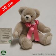 Teddybär Paulinchen 30 cm schmuseweiche Klassiker