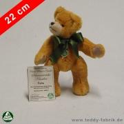 Teddybär Felix 22 cm schmuseweiche Klassiker
