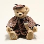 Sherlock Holmes Teddybär von Hermann-Coburg