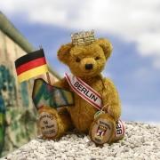 Berliner Anniversary Bär 2014Teddybär von Hermann-Coburg