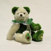 Mein Glücksbärchen für 2020  18. December 27 cm Teddy Bear by Hermann-Coburg