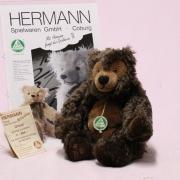 Künstlerbär Urmel - Design Ulla Hermann 24 cm Teddy Bear by Hermann-Coburg