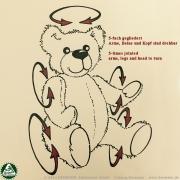 Teddybear Timo 30 cm 12 inch Classic Bears to Cuddle
