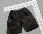 schwarze Kimono Hose für die schlanke Bärenfrau