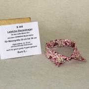 Lieblicher Blumenkragen für das süße Bären-Girl siehe Details in der Produkterklärung oben für alle Daten in  cm Teddy Bear by Hermann-Coburg