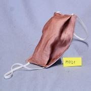 Wiederverwendbare Mund- und Nasen-Behelfsmaskeuni lachsfarben doppellagig Modacryl/Baumwolle/Modal Mischgewebe