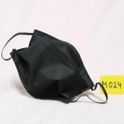 Wiederverwendbare Alltagsmaske Lifestyle schwarz doppellagig