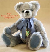 Teddybären Schnitt Maximilian Bär mit eingenähter Schnauze und eingenähten Ohren