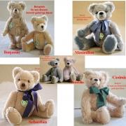Power Pack 5 Teddybären Schnitte