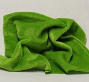Vintage Teddy-Plüsch hellgrün 70 x 70 cm