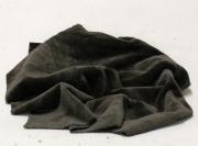 Vintage Teddy-Plüsch dunkelbraun 70 x 70 cm