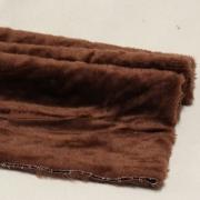 Vintage Teddy-Plüsch braun 70 x 70 cm