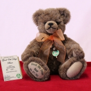 Flower Power Girl 33 cm Teddy Bear by Hermann-Coburg